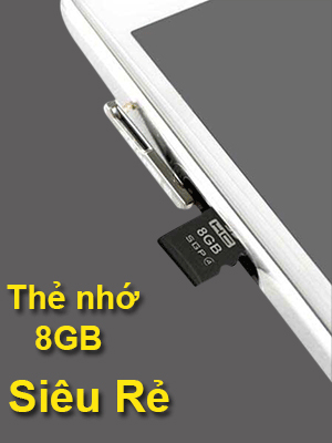 Thẻ nhớ 8GB