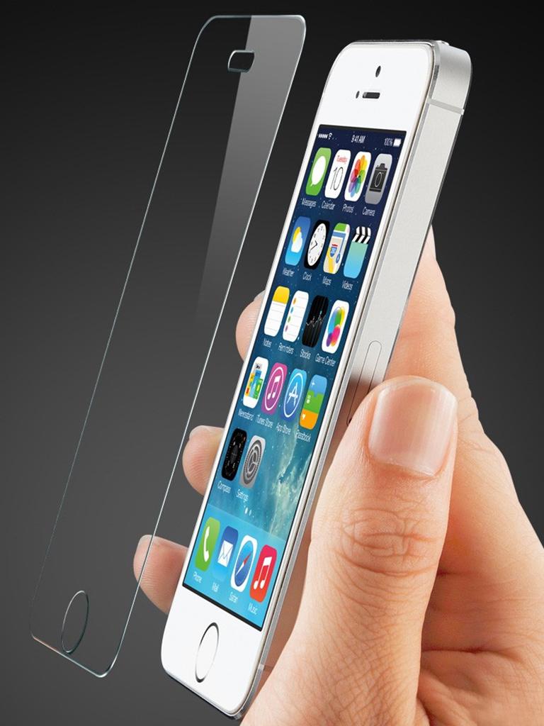 Miếng dán cường lực Iphone 5, 5S