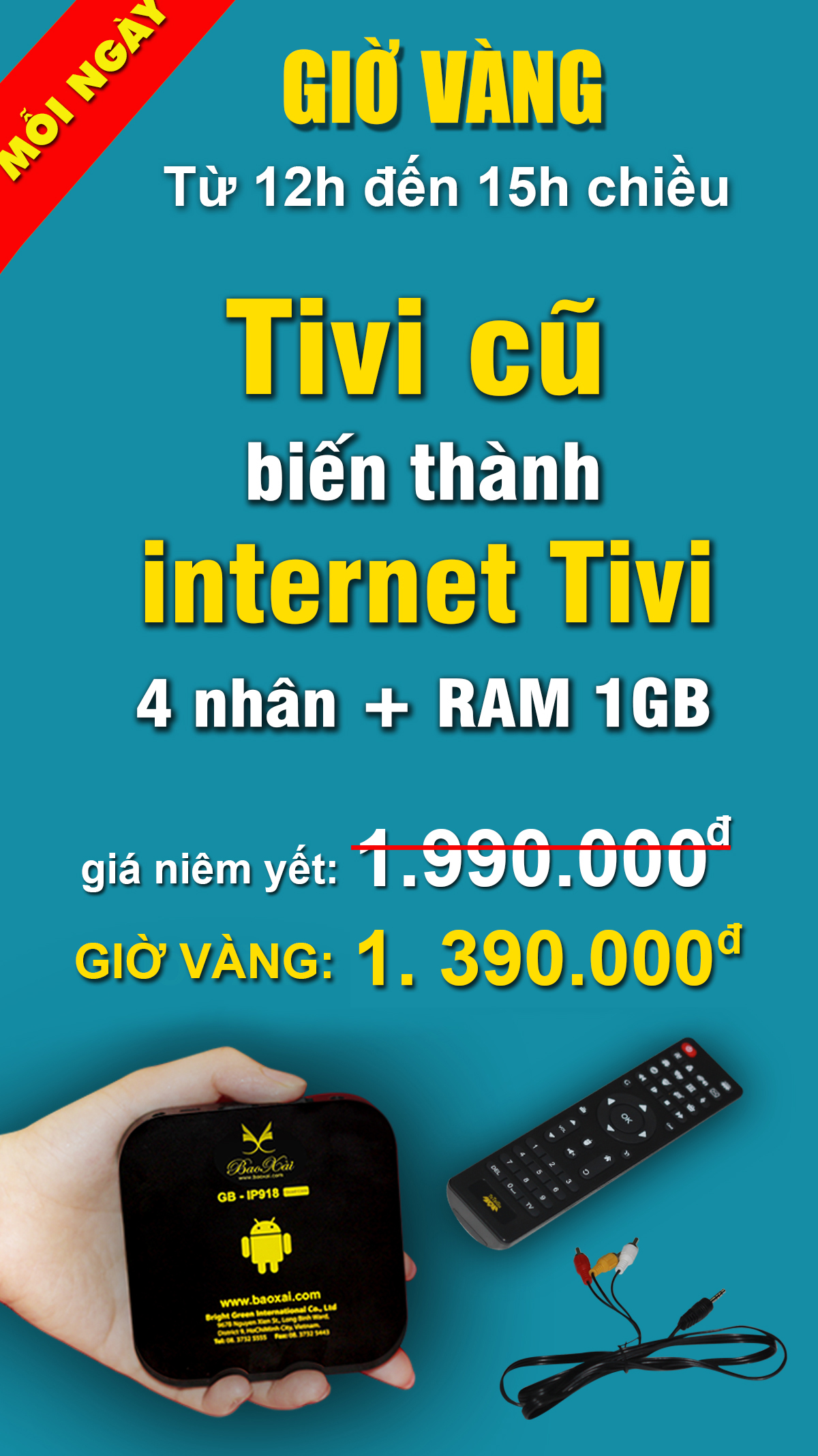 Android internet TV Box BX-IP918