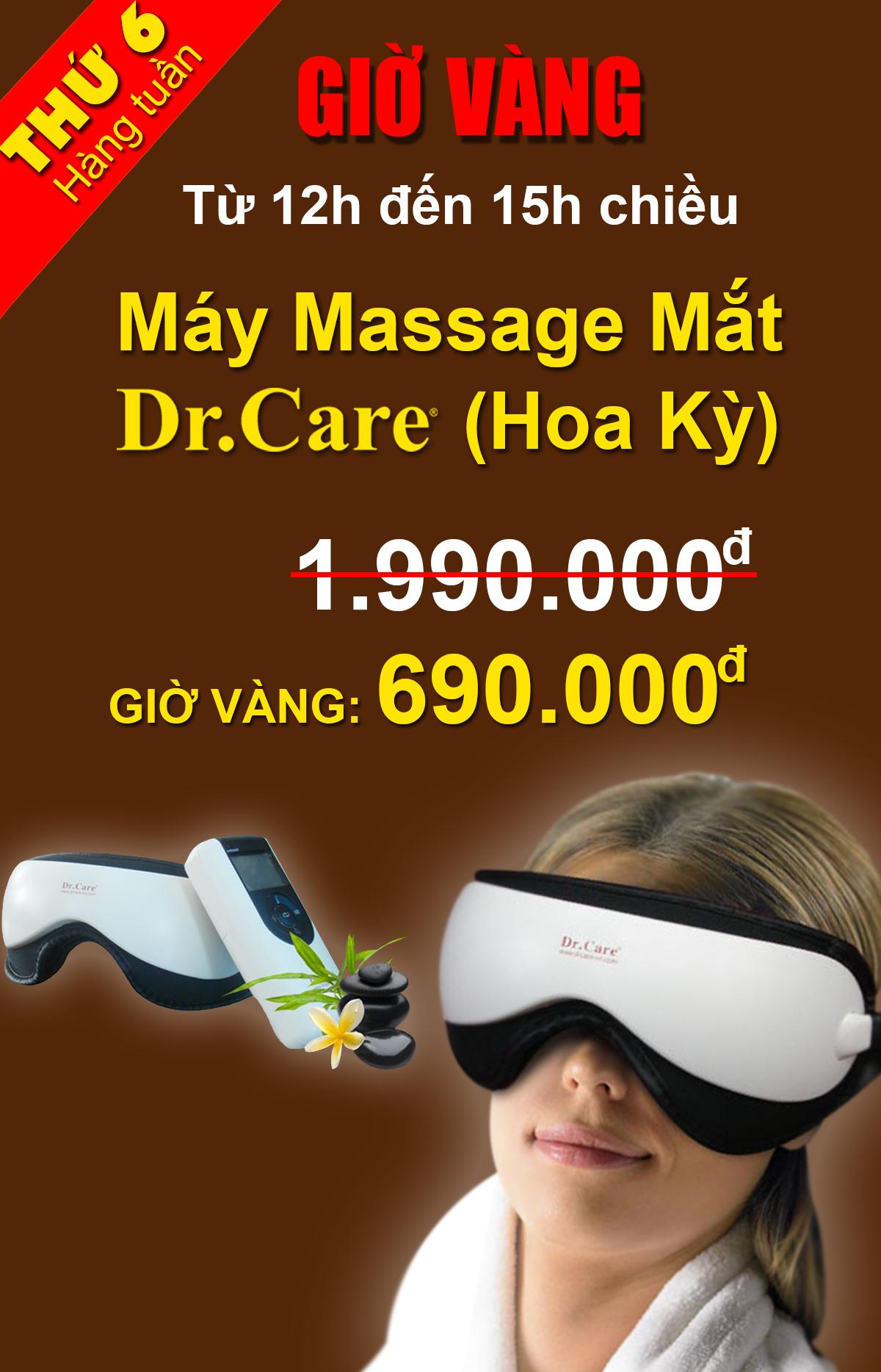 Máy Massage Mắt DR-EM981