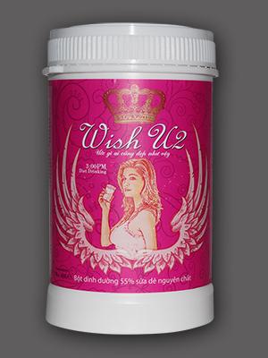Sữa Dê làm đẹp da, giữ vóc dáng (Wish U2)