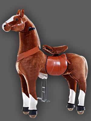 Thú cưỡi thể thao TURU (Ngựa nâu)