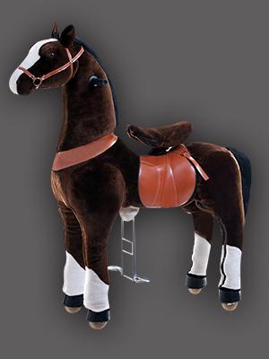 Thú cưỡi thể thao TURU (Ngựa đen)